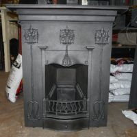 113MC_1200_Art_Nouveau_Cast_Iron_Fireplace