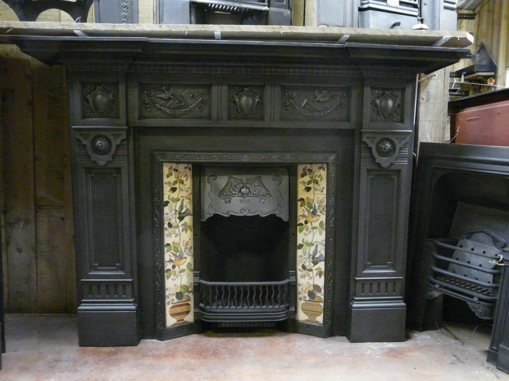 Victorian Cast Iron Fire Surround 178cs 1331 Old