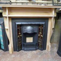 244WS_1077_Arts_&_Crafts_Pine_Fireplace_Surround