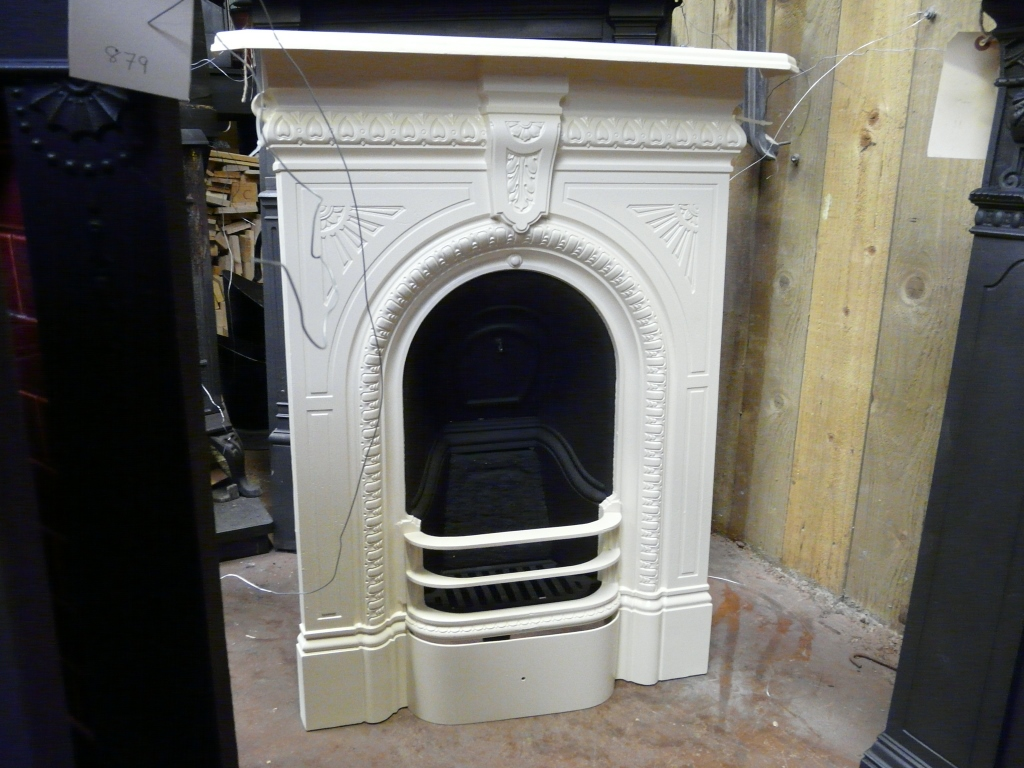 Victorian Painted Bedroom Fireplace 259b 536 Old