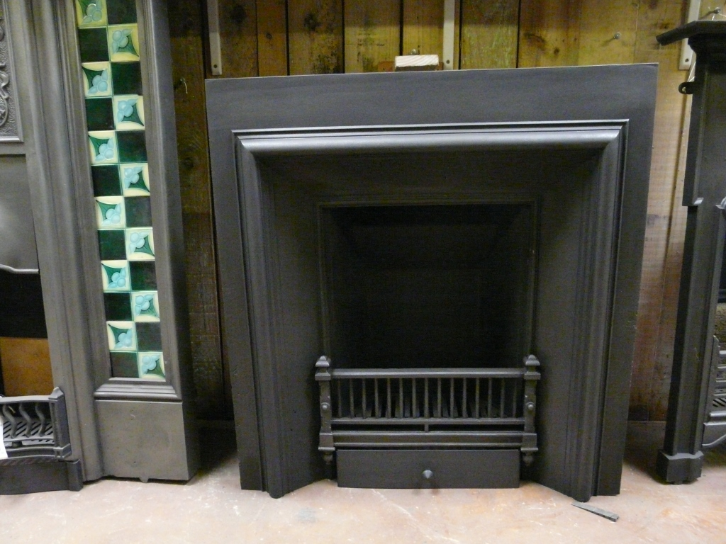 Georgian Cast Iron Insert 018i 1245 Old Fireplaces