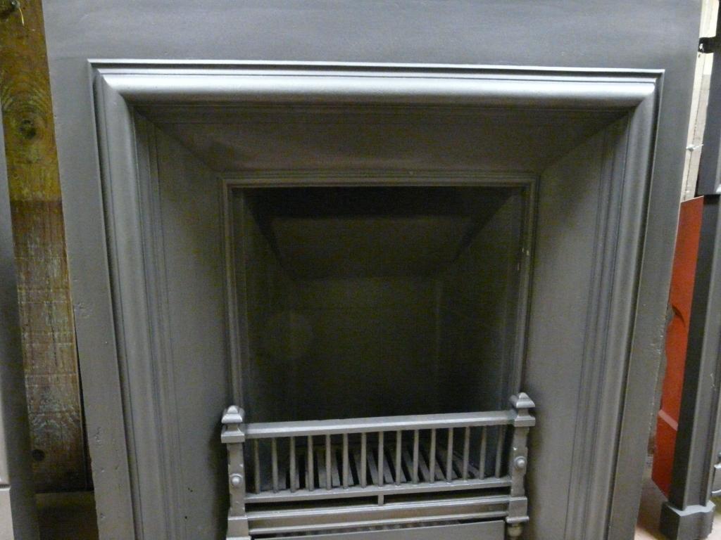 Georgian Cast Iron Insert -018I-1245 - Old Fireplaces