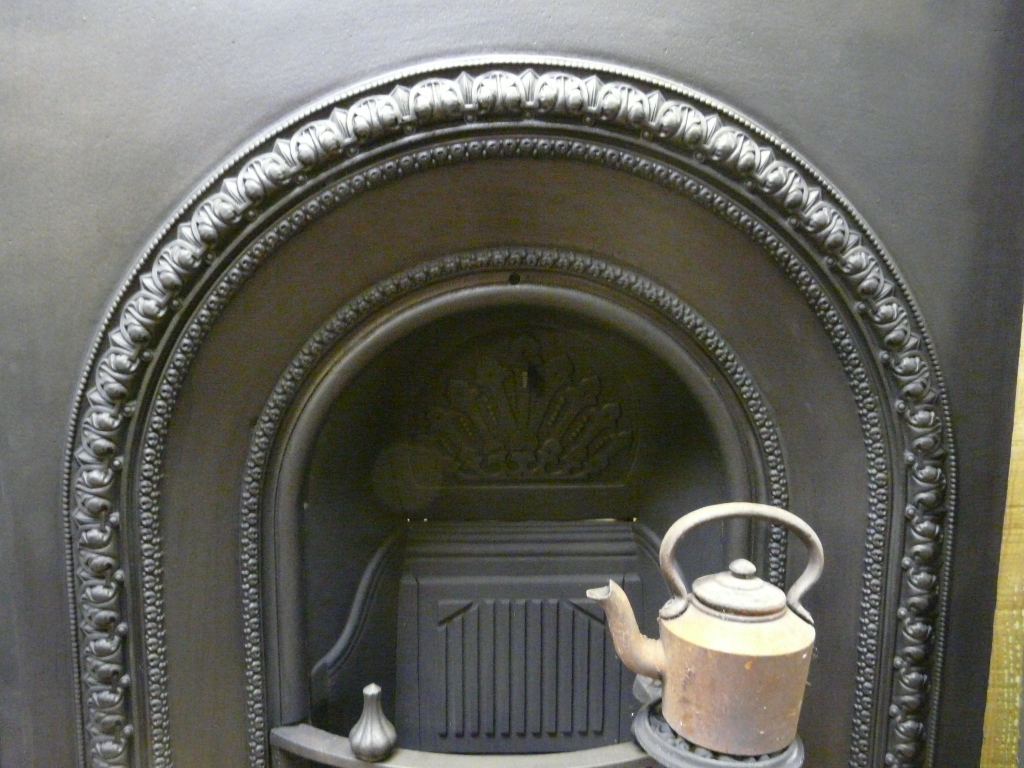 Victorian Arched Fireplace Insert - 055AI-1248 - Old ...