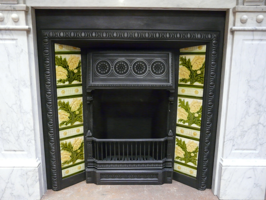 Victorian Tiled Insert Fireplace 221ti 1243 Old Fireplaces