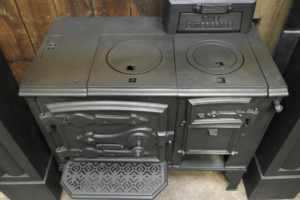 Victorian Cooking Range Stove 008s 1260 Old Fireplaces
