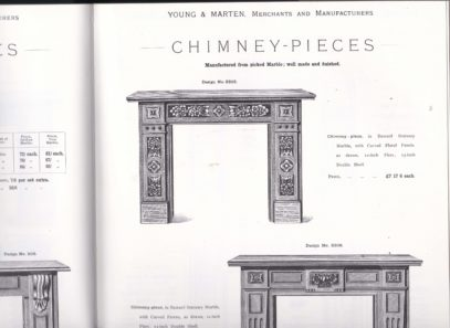 Original advertisement in the Young & Marten, Victorian House Catalogue 1275MS5