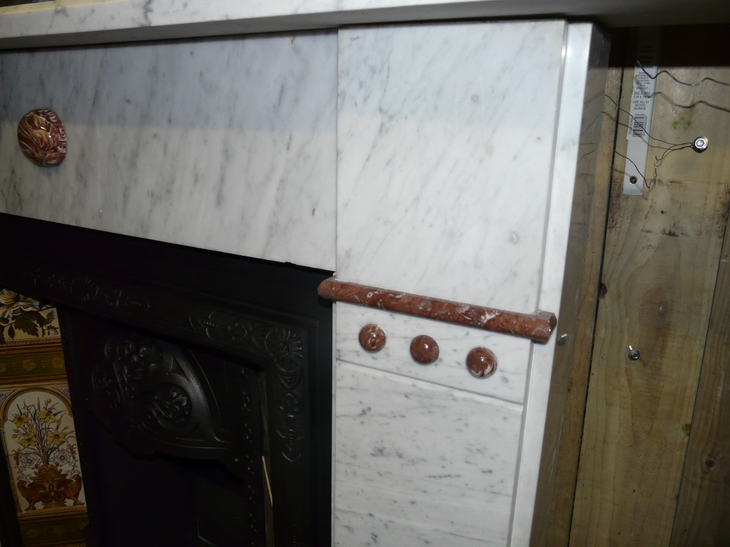 Victorian Marble Fireplace 291MS 1311 Old Fireplaces