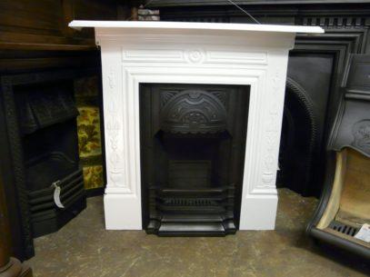 129LC_1338_Art_Nouveau_Cast_Iron_Fireplace