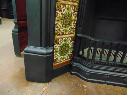 210TC_1330_Victorian_Art_Nouveau_Tiled_Fireplace