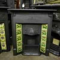 106TC_1361_Victorian_Art_Nouveau_Tiled_Fireplace