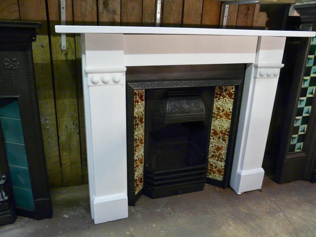 Victorian Slate Fire Surround 228ss 1352 Antique
