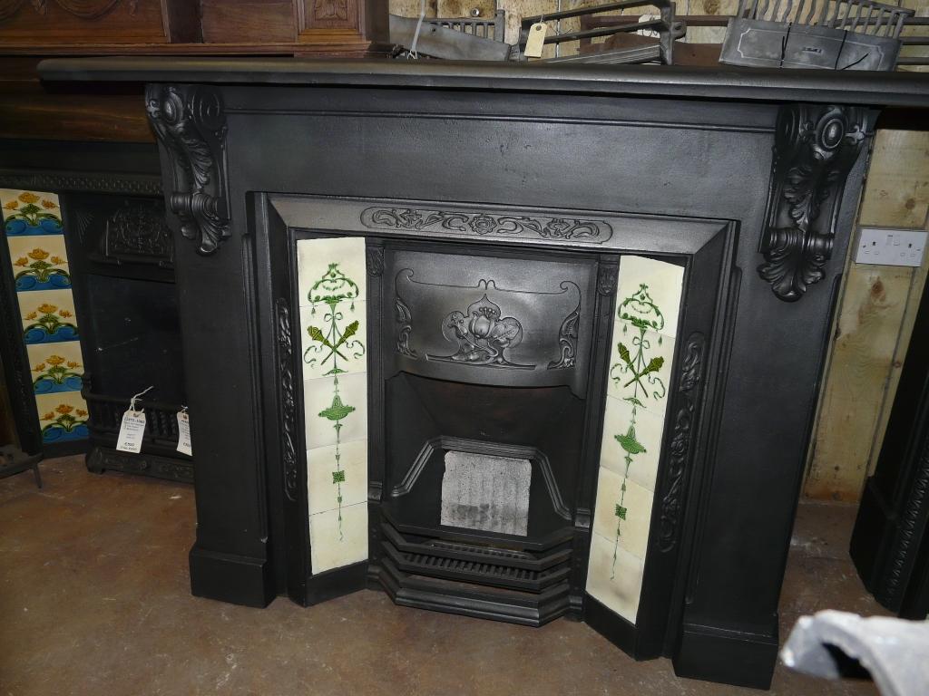 Victorian Cast Iron Surround 022cs 1390 Old Fireplaces