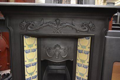 Edwardian Tiled Combination Fireplace 1369TCOld fireplaces