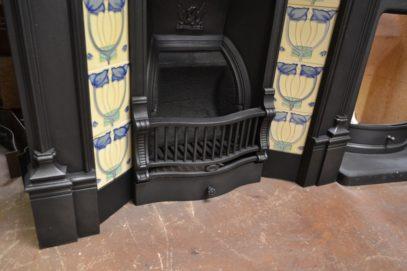 Edwardian Tiled Combination Fireplace 1369TC Old fireplaces