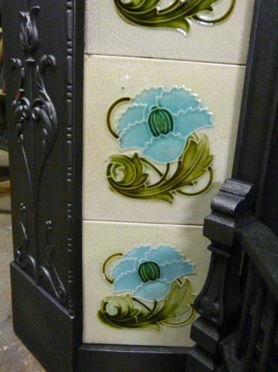 AN048_Victorian_Art_Nouveau_Fireplace_Tiles