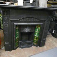 283TI_1373_Art_Nouveau_Tiled_Insert_Fireplace