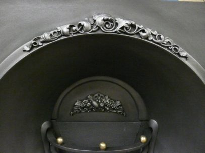 Early Victorian Cast Iron Grate 1422AI