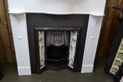 Art Nouveau Arts & Crafts Fireplace 1351CS - Oldfireplaces