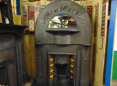 201CS_1351_Art_Nouveau/Arts_&_Crafts_Fireplace