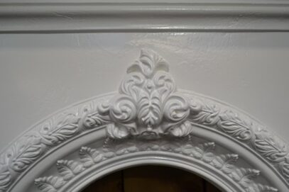 Painted Bedroom Fireplace Victorian 4141B - Oldfireplaces