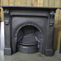Victorian Corbelled Cast Iron Fire Surround 4012CS - Oldfireplaces