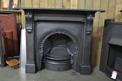 Victorian Surround 4097CS & Arched Insert 2085AI - Oldfireplaces