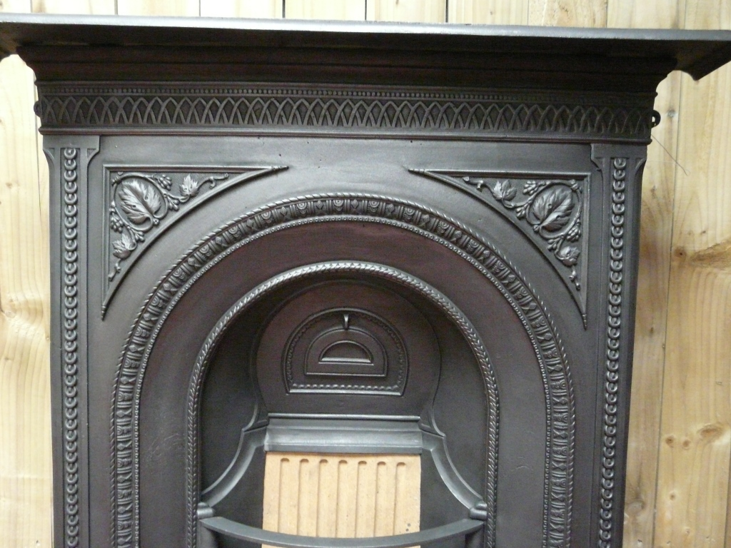 Antique Victorian Fireplace - 162LC-1471 - Old Fireplaces