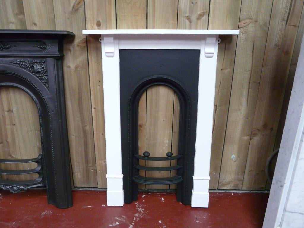 Victorian Cast Iron Bedroom Fireplace 223b 1476