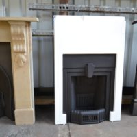 Art Deco Fireplace 3063MC