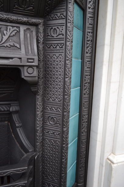 Victorian Tiled Insert 1496TI - Antique Fireplace Co