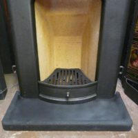 Simple Art Deco Bedroom Fireplace 1487B Old Fireplaces.