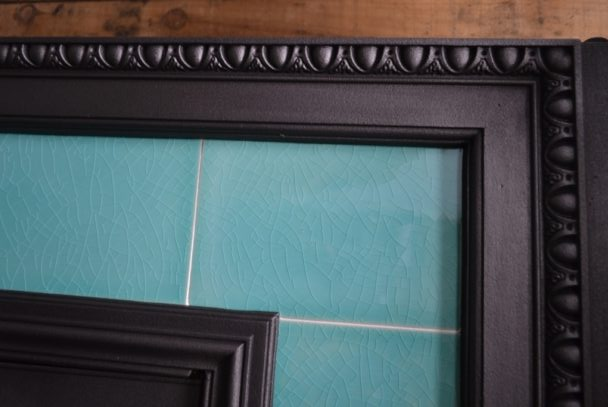 Late Victorian Tiled Combination Fireplace 1518TC - Antique Fireplace Company