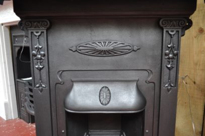 Late Victorian Bedroom Fireplace 1978B - Antique fireplaces
