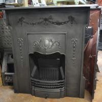Edwardian Cast Iron Fireplace 3042LC Antique Fireplace Company