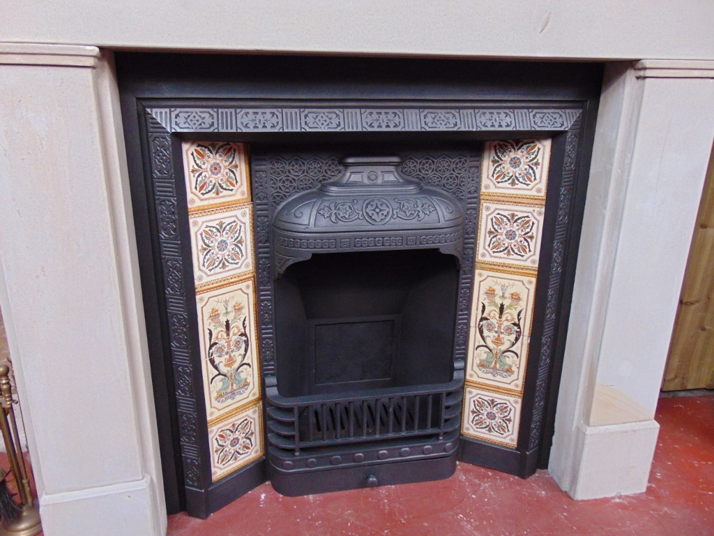 Victorian Stone Fire Surround 1564ss Antique Fireplace Co