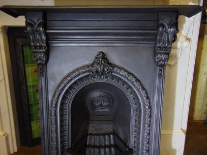 149B_1647_Victorian_Cast_Iron_Bedroom_Fireplace