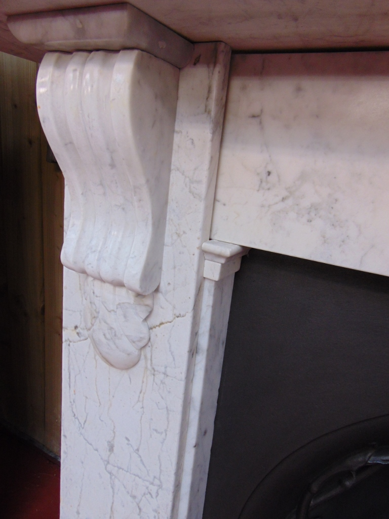 Antique Victorian Marble Fireplace Surround - 1570MS - Old ...