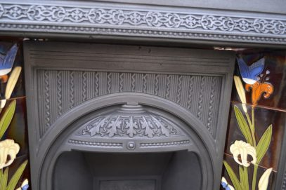 Victorian Tiled Insert 1629TI - Antique Fireplace Company