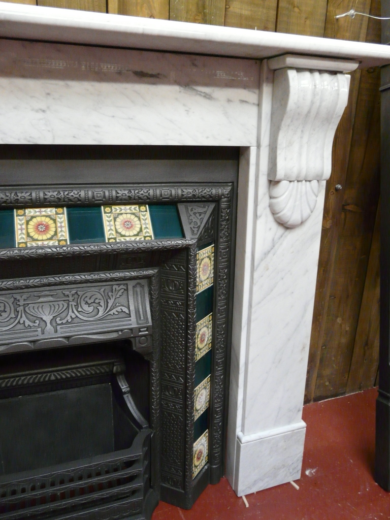 Reclaimed Marble Fireplace 300ms 1595 Old Fireplaces