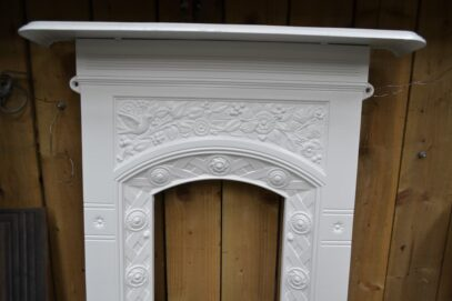 Arts & Crafts Bedroom Fireplace 4171B - Oldfireplaces