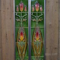 Art Nouveau Fireplace Tiles AN065