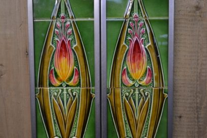 Art Nouveau Fireplace Tiles AN065