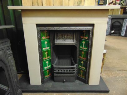 Victorian Stone Fire Surround - 1580SS - The Antique Fireplace Company