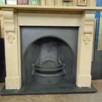 Victorian Stone Fireplace - 1655SS - The Antique Fireplace Company