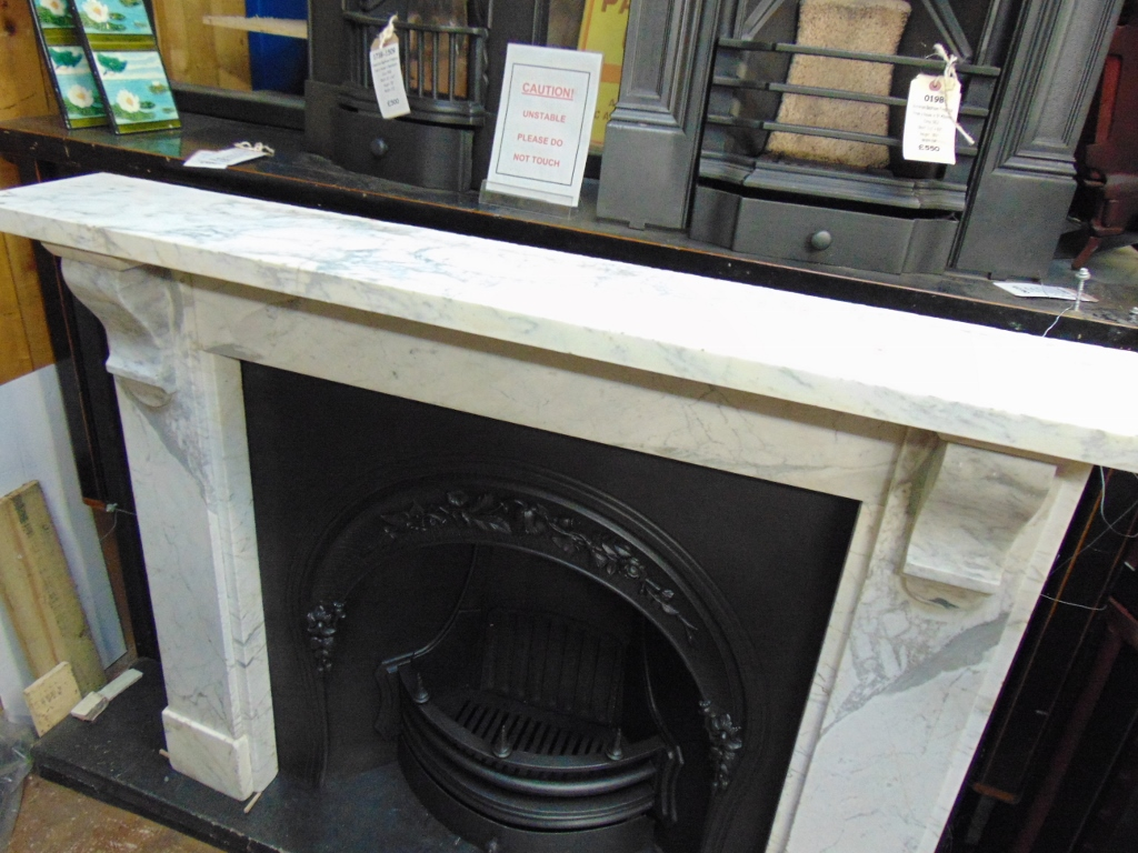 Original Georgian Marble Fire Surround 1679ms Antique Fireplace Co