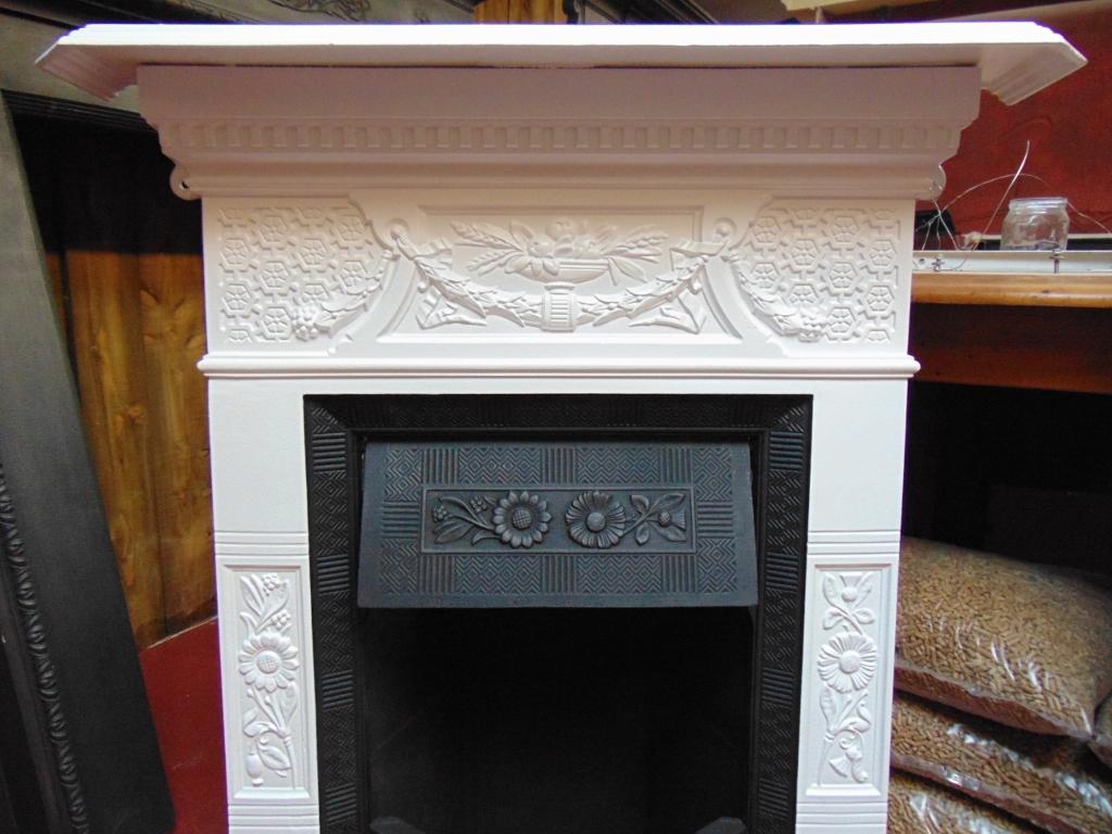 Victorian bedroom fireplace surround