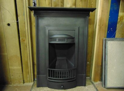 Cast Iron Edwardian Bedroom Fireplace 1695B Old Fireplaces.