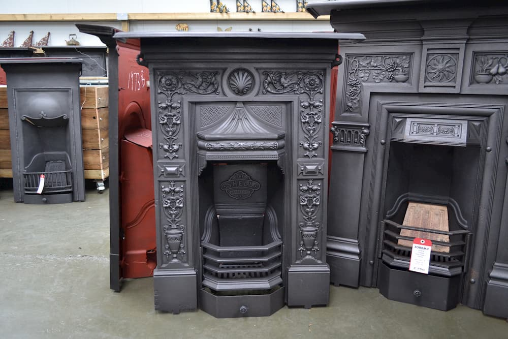 The S Mantel Victorian Fireplace, Antique Victorian Fireplace Surround