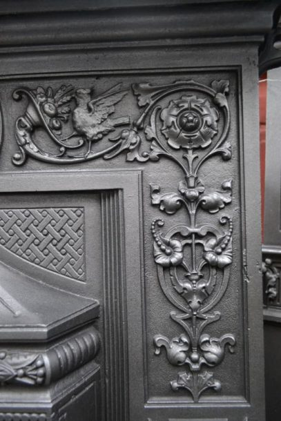 The 'Shell' Mantel Victorian Fireplace 4017B - Antique Fireplace Company