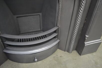 Victorian Iron Arched Insert 4213AI - Oldfireplaces